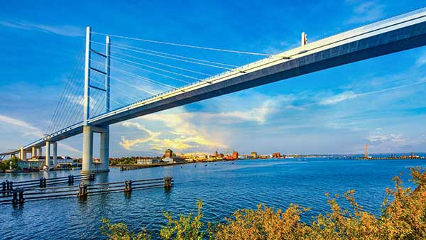 Brücke nach Rügen - Bergen Umzugsunternehmen Ebert