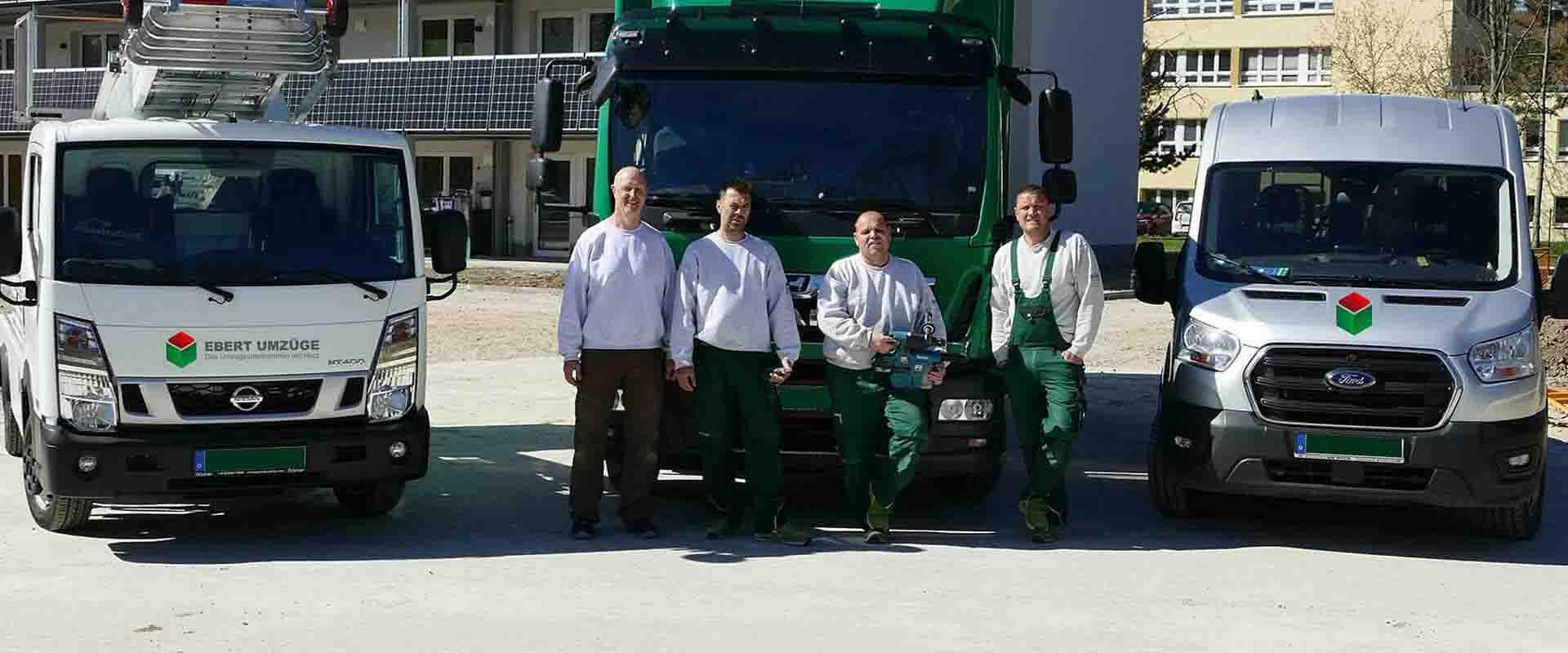 Das Team von Jens Ebert - Umzugsunternehmen in Mecklenburg-Vorpommern